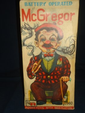 Mr Mcgregor Battery Operated Toy Lot 218