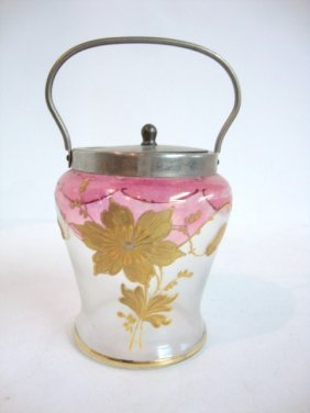 Miniature Cracker Jar