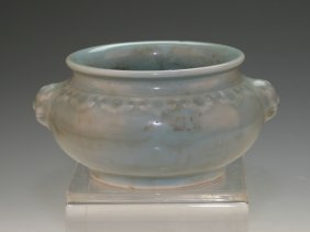 Celadon Water Pot