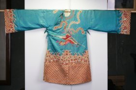 Chinese Silk Embroider Robe