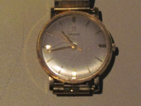 Omega Gold Man's Wristwatch