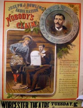 Nobody's Claim Lithograph Poster