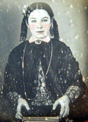 Daguerreotype Of A Girl