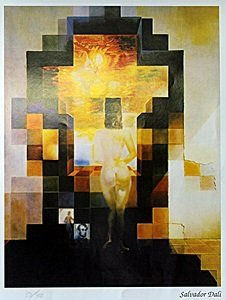 """Print """"lincoln In Dali Vision"""" After Salvador Dali"""