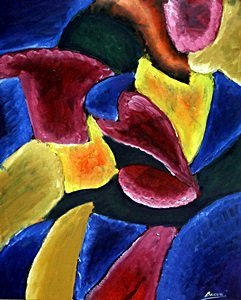 Composition - Oil On Paper - Umberto Boccioni