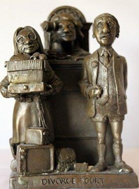 Divource Court - Limited Edition Bronze Sculpt. -