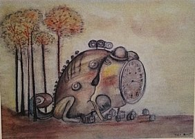 Max Ernst - The Time