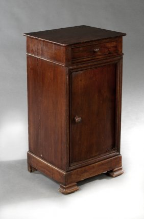French Louis Philippe Carved Oak And Mahogany