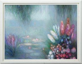 """Yolanda Razzeto (1948- , Peruvian), """"brightly Colored"""