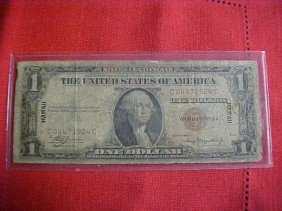 1931-A Hawaii $1 Note