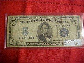 1934-C $5 Silver Certificate