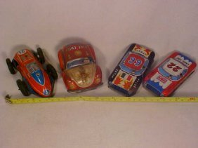 Lg Lot Of Early Tin Cars