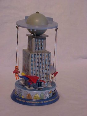 "Tin Litho ""Superman Carousel"" Toy"