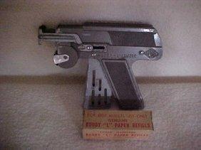 JMCO Super-numatic Cap Gun W/Buddy L Paper Refills