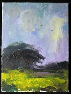 """Original Acrylic Paint On Canvas, """"free To Fly"""" By"""