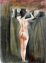 Portrait Of Emile Dickson - Mary Cassatt