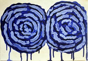 Two Roses - Cy Twombly Jr.