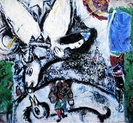 """the Large Circus"" By Marc Chagall"