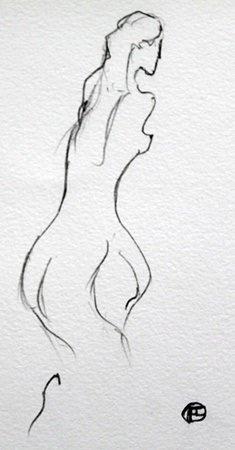 Pencil Drawing - Toulouse Lautrec