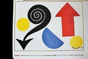 Lithograph After Alexander Calder