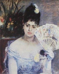 Lithograph Jeune Fille Au Bul - Berthe Morisot