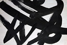 Oil Painting On Paper - Franz Kline
