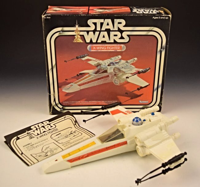 1977 Star Wars X Wing Fighter In Box
