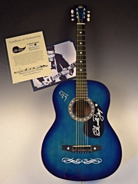 Chuck Berry Signed Guitar