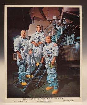 Apollo 8 Crew Signed Photograph