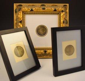 Grouping Of Erte Bronze Medallions