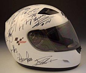Motogp Signed Helmet, Valentino Rossi