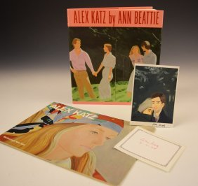 Grouping Of Alex Katz Signed Items