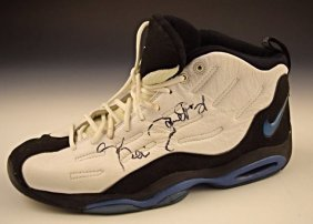Kevin Garnett All Star Game Worn Signed Shoe
