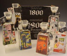 Jean Michel Basquiat Art Bottles