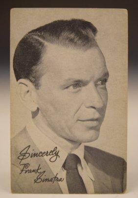 Frank Sinatra Card