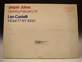 Jasper Johns, Leo Castelli Mailer