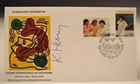 Keith Haring Signed Volunteer Day