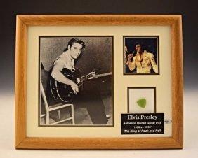 Elvis Presley's Guitar Pick