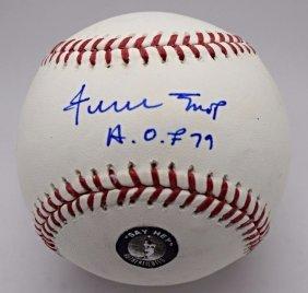 Willie Mays Signed Baseball