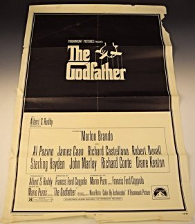 The Godfather Original Theatrical Movie Poster
