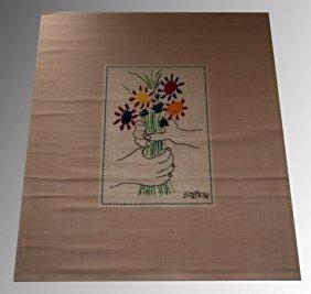 Pablo Picasso Desso Tapestry