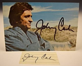 Johnny Cash Autograph