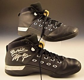 Michael Jordan Nba Worn Shoes