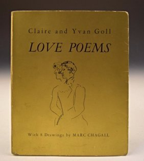 Marc Chagall, Love Poems Signed Book