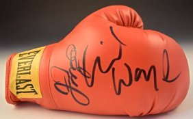 Mayweather Boxing Glove Signed