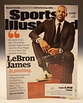 Lebron James Autograph