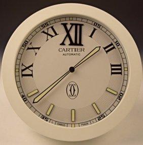 Cartier Dealer Clock