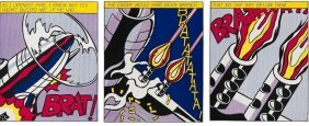 Roy Lichtenstein As I Opened Fire