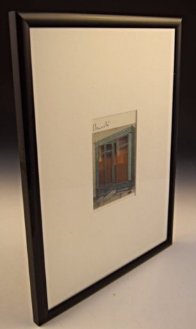 Christo Signed Offset Lithograph