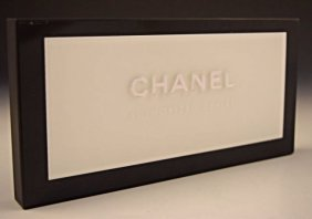 Chanel Advertisement Display
